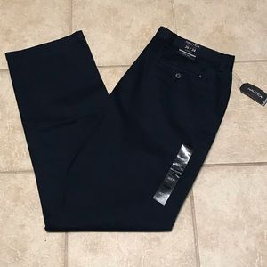 """NWT Nautica Classic Fit Navy """"The Deck Pant"""" Chino"""